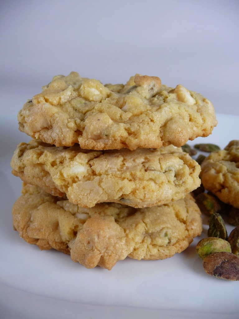 Pistachio White Chocolate Chip Cookies Recipes — Dishmaps