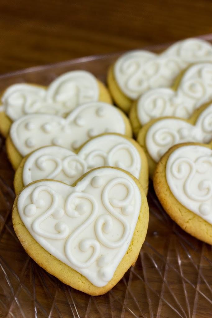 Wedding Sugar Cookies : Kendra\'s Treats