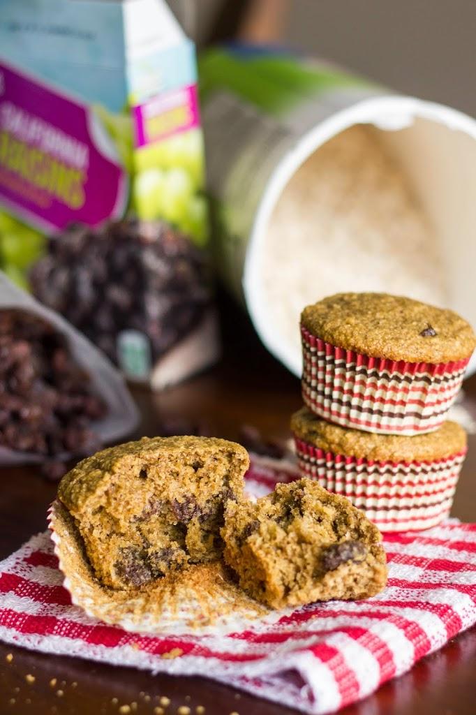 Oatmeal Raisin Cookie Muffins : Kendra's Treats