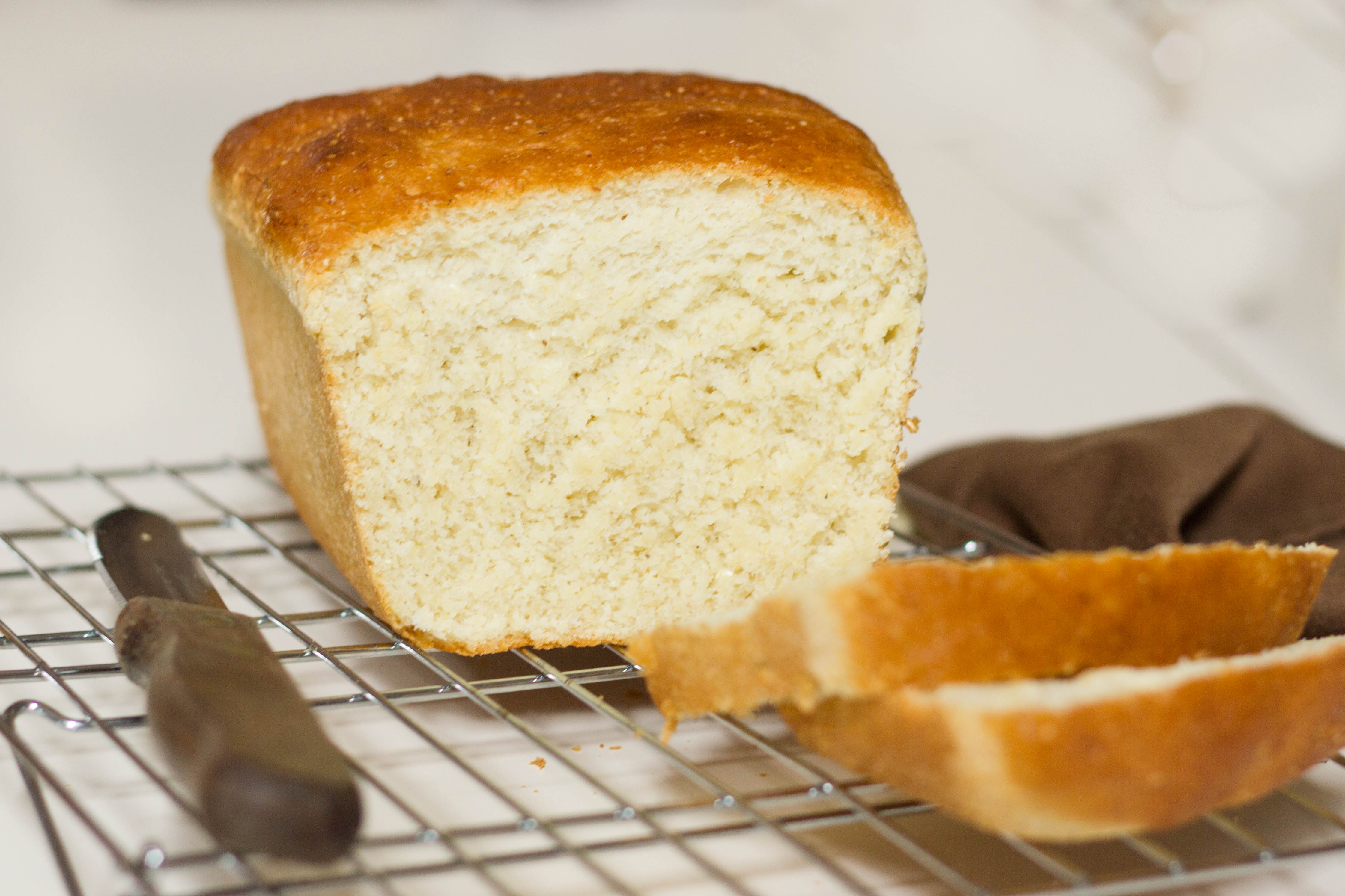 Yeast Cornbread Loaf : Kendra's Treats