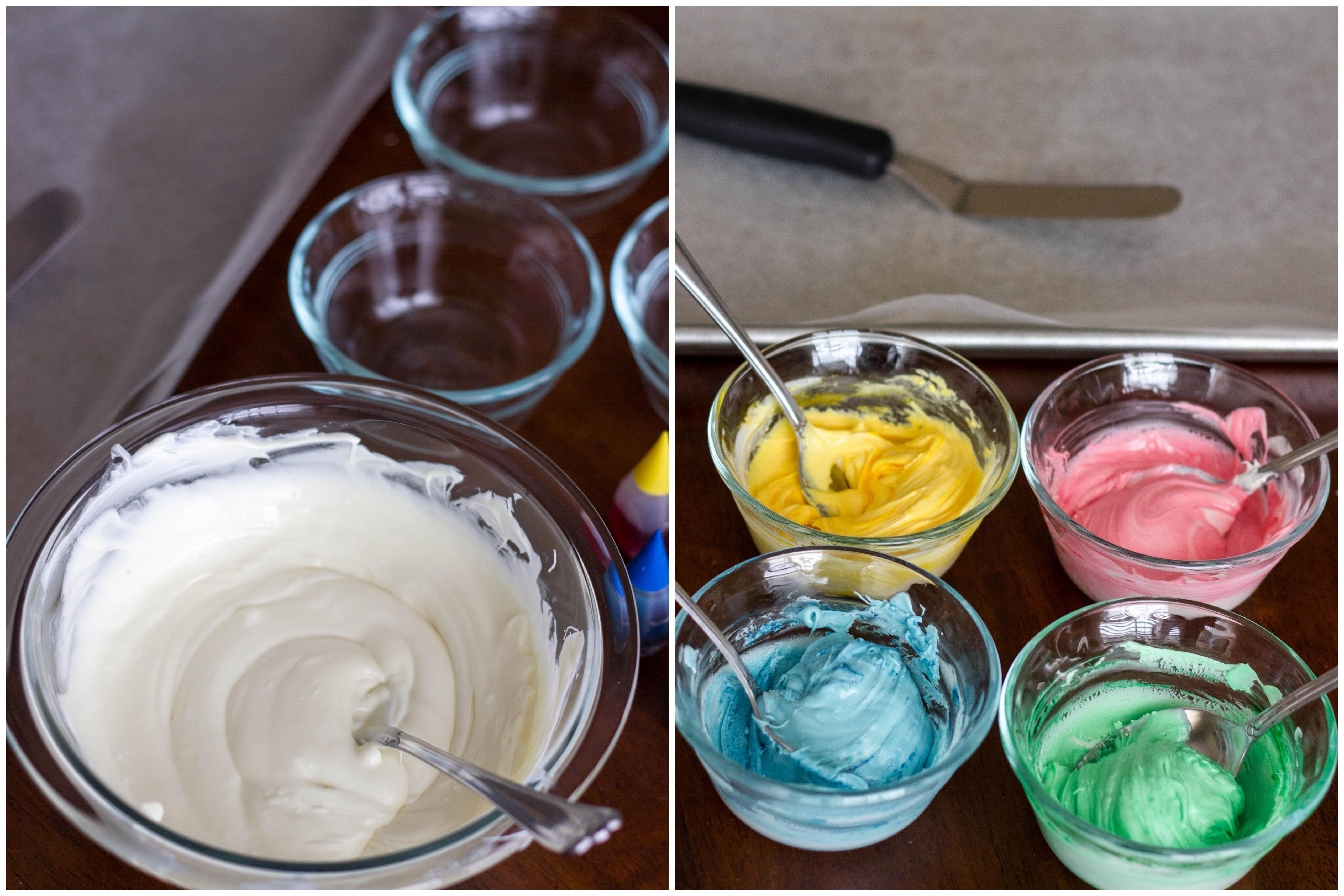 Homemade Rainbow Chip Cupcakes : Kendra\'s Treats