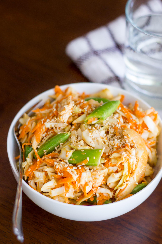 Asian shredded chicken salad kendras treats forumfinder Images