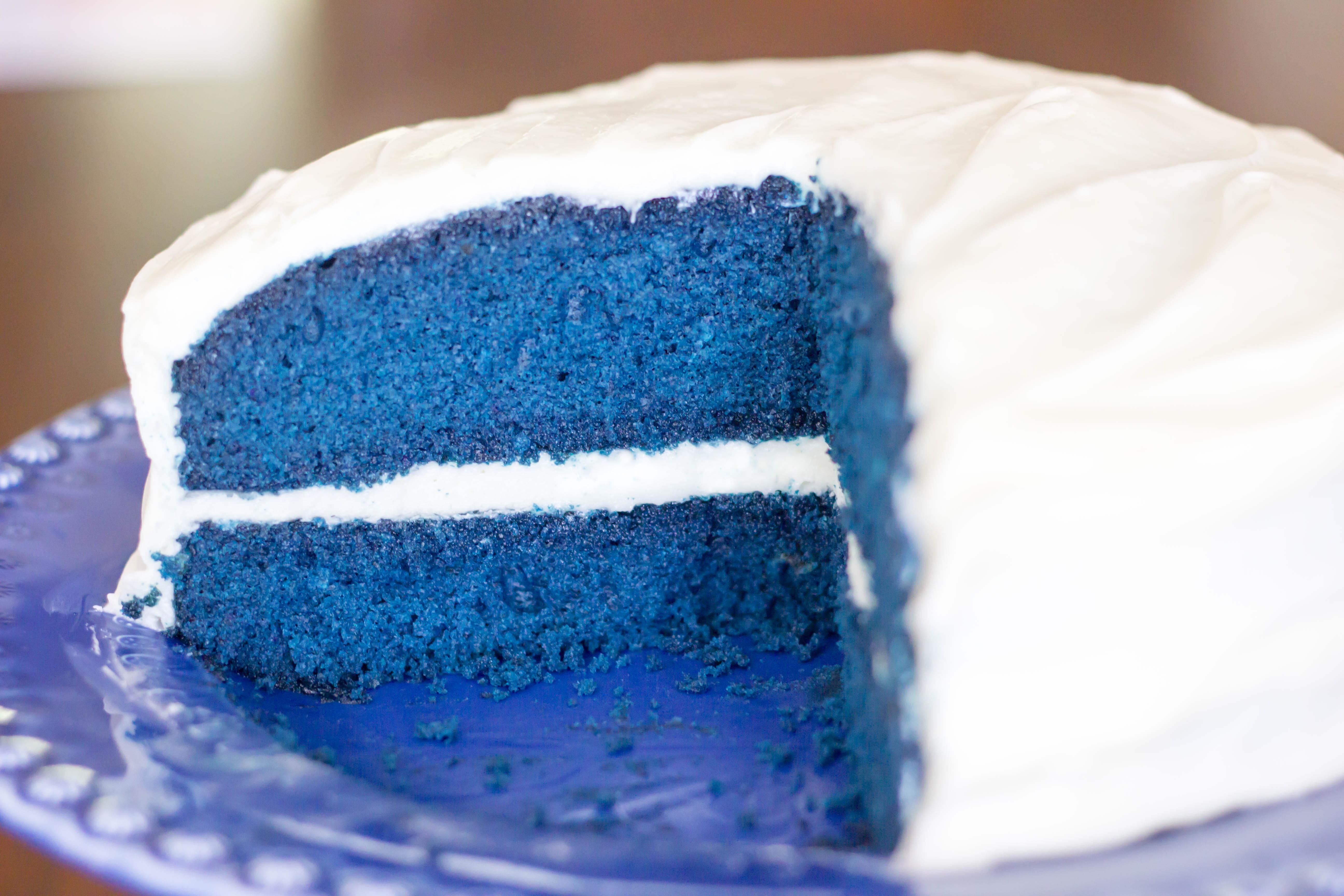 Blue Velvet Cake Kendra S Treats