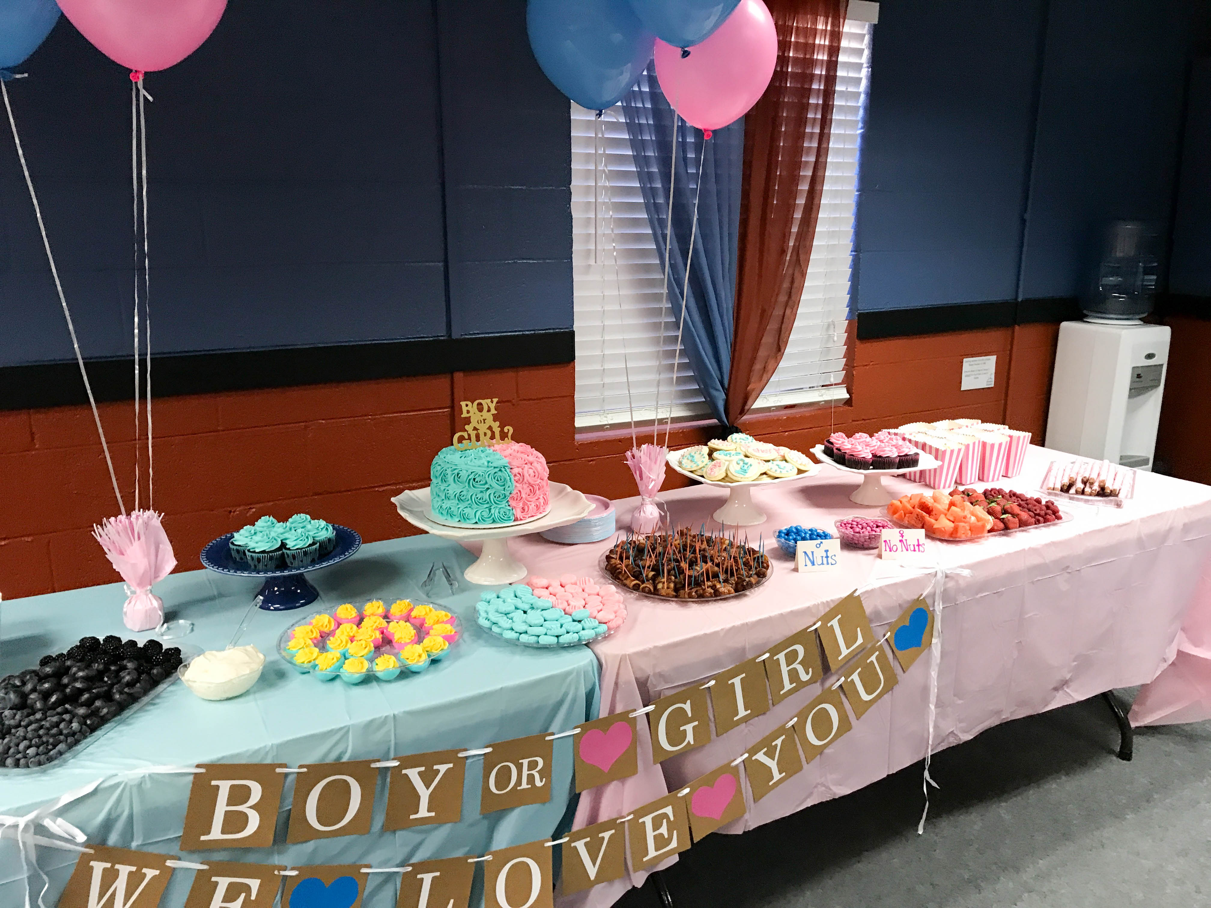 Our Gender Reveal Party! \u2026 It\u0027s a BOY!  Kendra\u0027s Treats